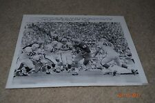 JACK SNOW WIRE PHOTO 9-28-63 NOTRE DAME VS. WISCONSIN