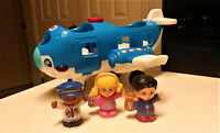 Fisher Price Little People Travel Together Airplane with figures