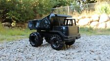 Mighty Tonka Dump Truck man cave art toy grim reaper diecast vintage airbrush