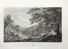 VALENCIA, MONASTERIO DE PORTA COELI.Laborde, grabado original 1806 a 1820