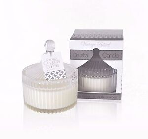 Lonimax 200g Scented Candles/SOY WAX Candles-White Flower & Vinalla