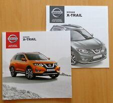 381 Nissan X-Trail Prospekt Juli 2017 + X TRAIL Preisliste Ausstattungen Motoren