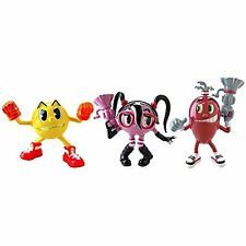 Pac-Man and The Ghostly Adventures Cylindria Spiral Figures Pk 3