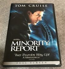 Minority Report DVD Colin Farrell, Tom Cruise, Free Shipping