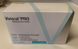 VIVISCAL PROFESSIONAL HAIR FORMULA 180 TABLETS pro strength men women exp 9/22