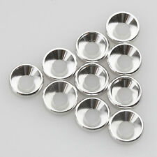 10PCS ALIENTAC M4 x 10mm x 2.5mm Aluminum Silver Counter-Sunk Screw Washers