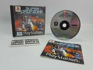 Super Dropzone - PS1 (Sony Playstation 1) Complete (PAL) Black Label