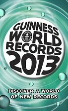 Guinness World Records 2013 (Guinness Book of Records (Mass Market)) by Glenday,