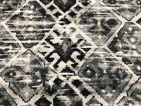 "Ian Sanderson ""I-Kelim Slate"" Linen Ikat Fabric | Per Meter - In Stock Now!"