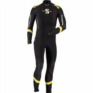 Scubapro Sport Steamer Wetsuit 7 mm Men's - Black/Yellow, Size L