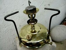 Vintage in Brass Stove Sunflower Vacuum Oil Company Nº1 Pressure Petroleum