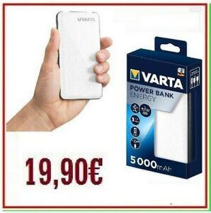 power bank VARTA 5000mAh carica batteria esterna portatile powerbank