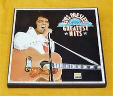ELVIS PRESLEY GREATEST HITS - SEVEN ALBUM BOX SET NEVER PLAYED - RCA