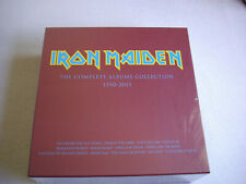 Iron Maiden The Complete Albums Collection BOX 2 LP Vinyl New Factory Sealed.