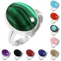 925 Sterling Silver Gemstone Ring Women Jewelry Size 5 6 7 8 9 10 11 12 13 Al463