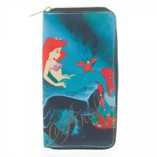 Disney Ariel Wallet The Little Mermaid Wallet Bioworld Licensed All Over Print