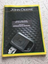 John Deere Xuv, And Trail 4x4 Gas Gator Operators Manual