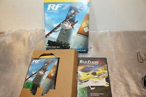 2 RealFlight RF6.5 R/C Flight Simulator MODEL AIRPLANE AND RF7 Upgrade NEW INBOX