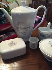Vintage Rosenthal Germany China Rode & Zarrath Nautical Coffee Pot Lot
