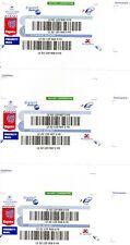 Étiquettes de suivi international lettre suivie monde pour envoi postal timbre