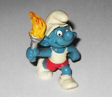 PUFFO TEDOFORO Olimpiadi 20030 Hong Kong 1978 4B Smurf Torchbearer