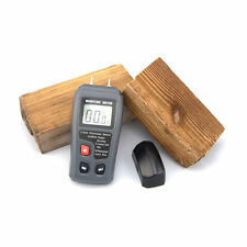 LCD 0-99.9% 2Pins Wood Industry Digital Moisture Meter Humidity Tester Timber HA