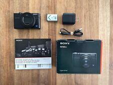Sony Cyber-shot DSC-RX100 VI 20.1MP Digital Camera - Black