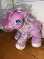 My Little Pony Baby Alive Plush Stuffed Hasbro 2003 Giggles Butterfly Purple