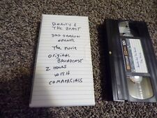 MAXELL HGX GOLD Used VHS Videocassette Tape Sold as blank BB3