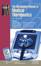 The Washington Manual® of Medical Therapeutics (Spiral Manual Series)-ExLibrary