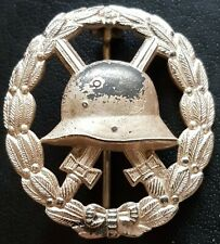✚8200✚ Imperial German Wound Badge in Silver Verwundetenabzeichen WW1 CUT OUT
