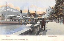 POSTCARD   SWITZERLAND   Poste  Suisse  en  Hiver