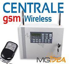 Centrale Allarme GSM PTSN Wireless senza fili antifurto casa capannone negozio