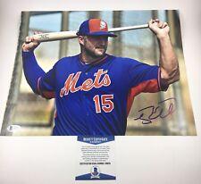 Tim Tebow Mets Baseball Gators Signed Autographed 11x14 Photo Beckett