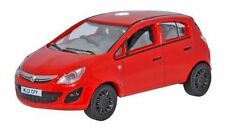 Oxford 76VC003 - Vauxhall Corsa Flame Red - 1/76th Scale = 00 Gauge New in Case