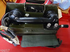 Field Telephone  Set J  YA7815   New / Reconditioned  in box 1 pc