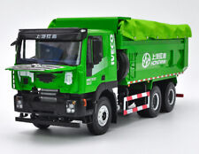 1-24 lveco Cenlvon dump truck with blanket cover diecast model Green!