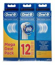 12 x BRAUN Oral B Precision Clean Aufsteckbürsten - NEU & OVP - TOP ANGEBOT