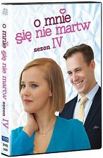 O mnie sie nie martw - Sezon 4  (DVD 4 disc) Joanna Kulig POLSKI POLISH