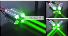 1pc Fat Beam 532nm 50mw Green Laser Dot Module Aluminum Bar Stage Lasers 3.6-5V