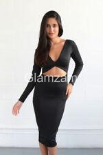 Vestidos de mujer de color principal negro talla M de poliéster