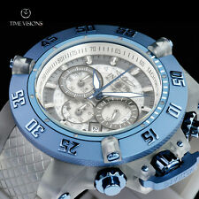 Invicta Men's 50mm Subaqua Anatomic Translucent Dial & Strap Chronograph Watch