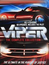 Viper Complete TV Series Season 1-4 (1 2 3 & 4) NEW 80 EPISODES + PILOT DVD SET