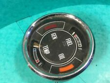 "Car water temperature gauge 4""chrome fomoco C78H-10849  classic car ford"