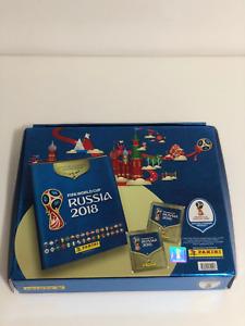 Panini FIFA World Cup Russia 2018 Box Premium + Collectors Tin + Complete Set