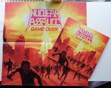 227Nuclear AssaultGame OverCLEAR / RED / YELLOW SPLATTER VINYL LP ! 350 MADE