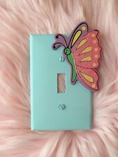 Handmade Butterfly Single Light Switch Plate Cover