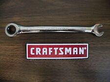 New Craftsman 38 Full Polish Ratcheting Combination Wrench 42561 Sae