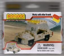 best lock construction toys  Desert Jeep Truck 2011 New in Box