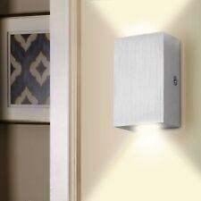 2W Led Wandlampe Aluminium Wandleuchte Eckig Wandlampe Flurlampe Lampe Warmweiß